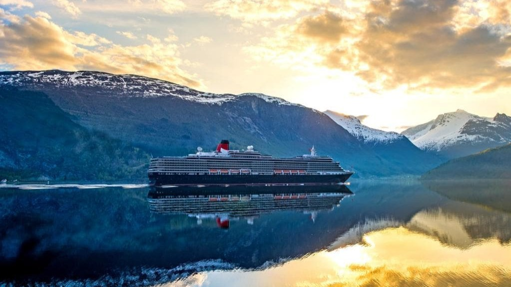 Cunard cruise in Alaska