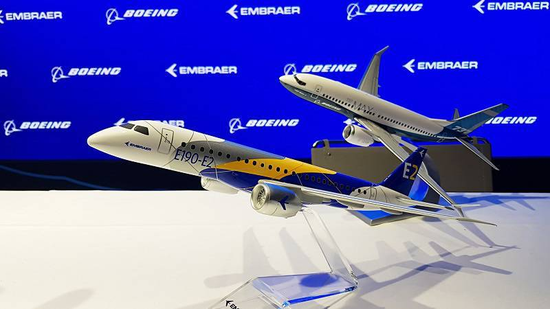 Embraer and Boeing models