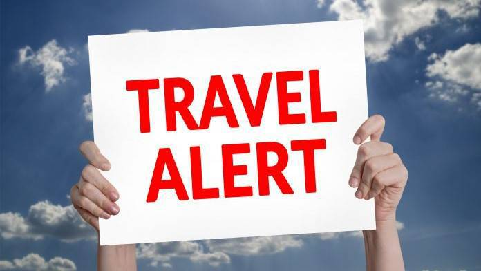 Travel Alert Warning