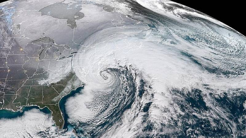 bombogenesis on a map