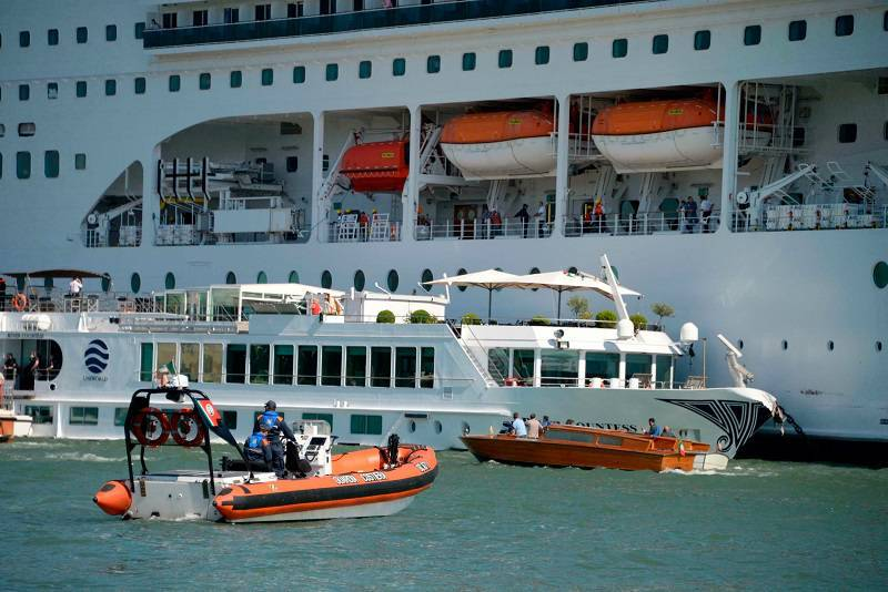 MSC Opera Cancels Departure Following Venice Crash