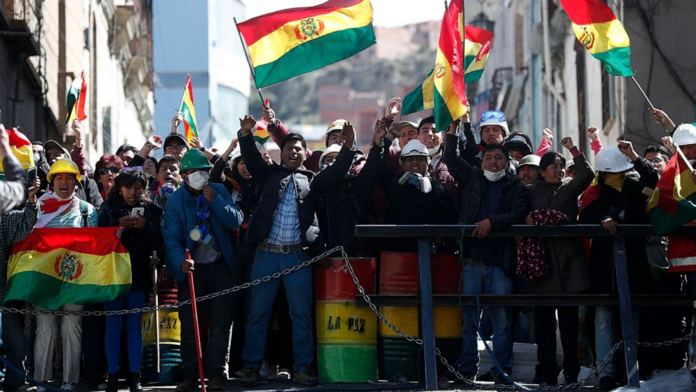 U.S. State Department Issues Travel Warning on Bolivia