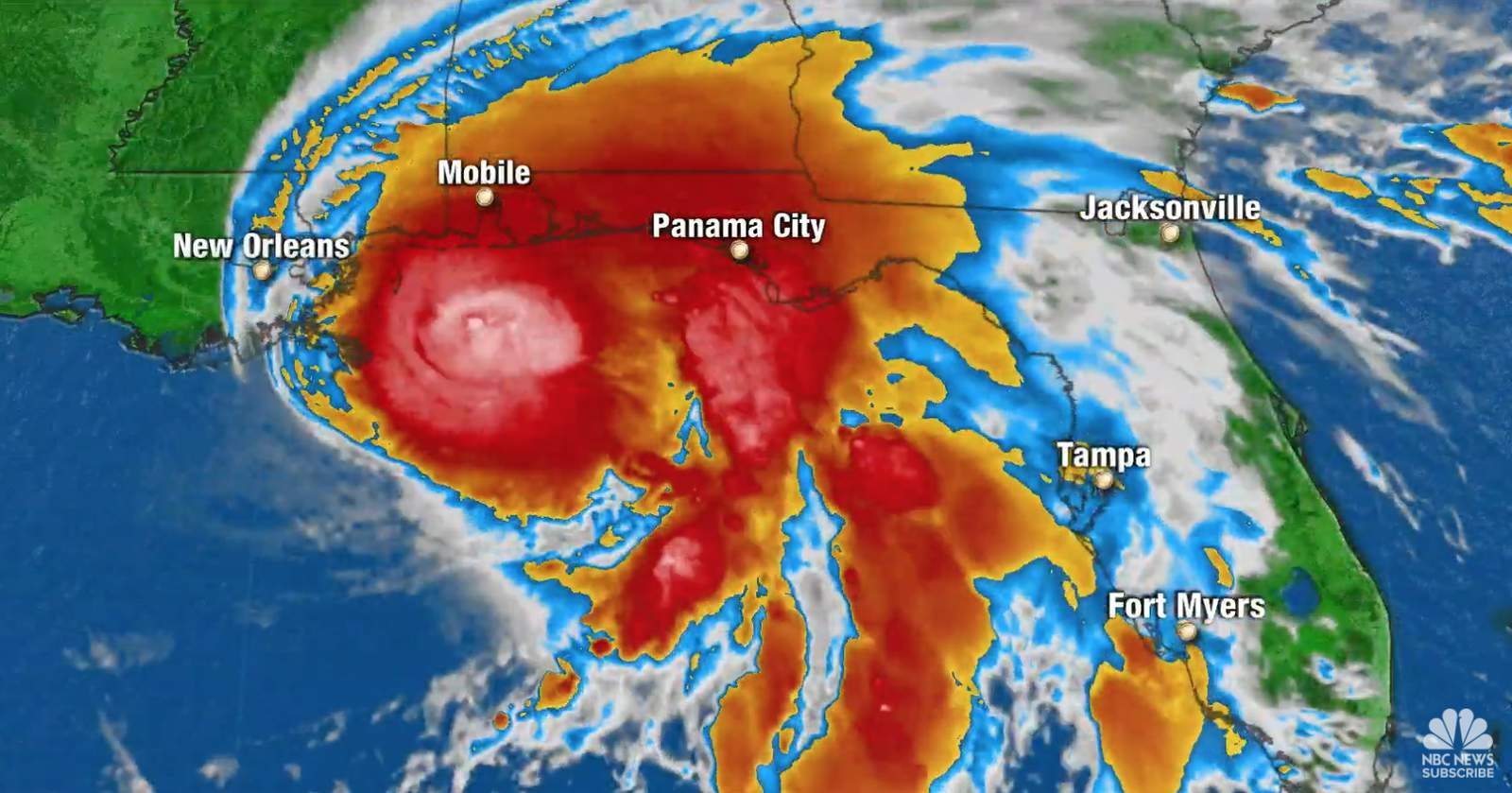 Hurricane Sally Expected To Make Landfall Near Mississippi