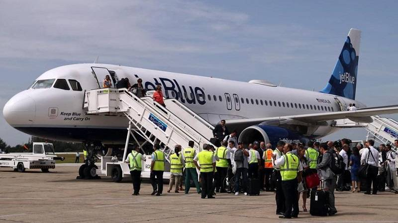 JetBlue Starts Regular Flights between Boston and Havana