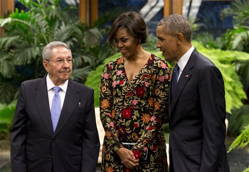The Obamas Attend State Dinner in Havana
