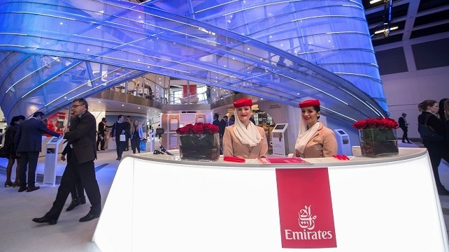 Emirates Returns to ITB Berlin with a Big Bang