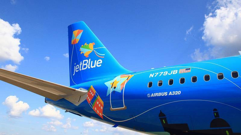 "JetBlue Launches ""Bluericua"" to Support Puerto Rico's Tourism"