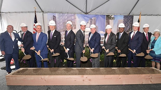 Marriott Breaks Ground on New HDs in Maryland