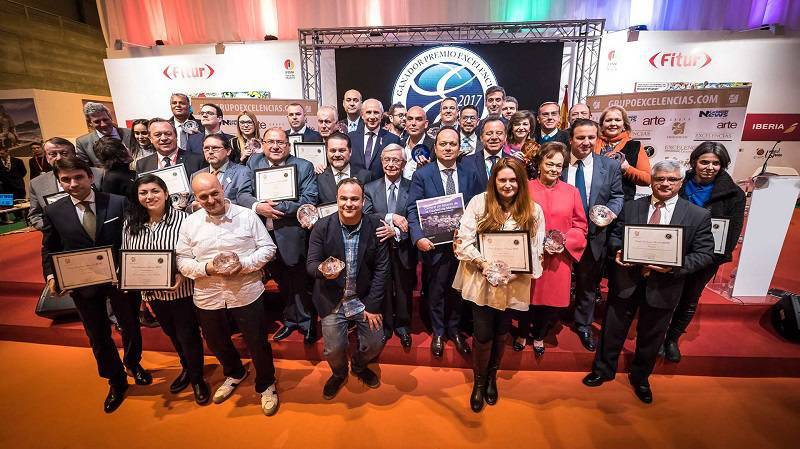 The 2017 Excelencias Awards Delivered at FITUR