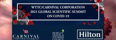 logo of the 2021 Global Scientific Summit on COVID-19.