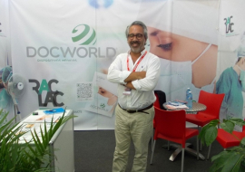 Jose Luis Rebelo, Owner and Marketing Director of DocWorld Medical Devices