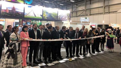 Opening of Mexican stand at ITB Berlin 2019