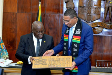 Jamaica, Ghana to Implement Visa Waiver Agreement